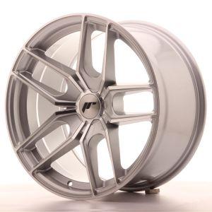 JR Wheels JR25 18x9,5 ET40 5H BLANK Silver Machined Face