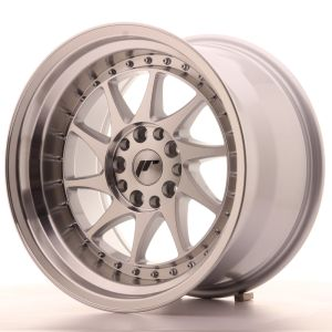 JR Wheels JR26 17x10 ET20 5x100/114 Silver Machined Face