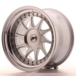 JR Wheels JR26 17x10 ET20-25 BLANK Silver Machined Face