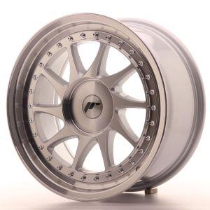 JR Wheels JR26 17x8 ET20-35 BLANK Silver Machined Face