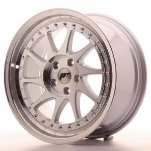 JR Wheels JR26 18x8,5 ET35 5x100 Silver Machined Face