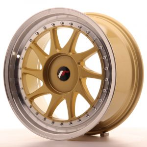 JR Wheels JR26 18x8,5 ET20-40 BLANK Gold w/Machined Lip