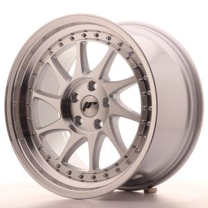 JR Wheels JR26 18x9,5 ET35 5x100 Silver Machined Face