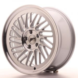 JR Wheels JR27 18x8,5 ET35 5x100 Silver Machined Face