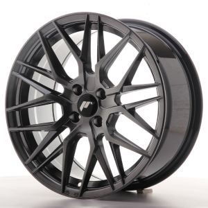 Japan Racing JR28 17x7 ET40 5x112 Silver Machined