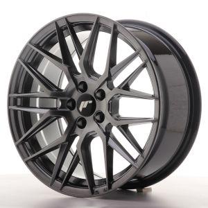 JR Wheels JR28 17x8 ET35 5x100 Hyper Black