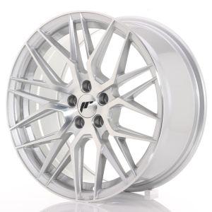 JR Wheels JR28 17x8 ET35 5x100 Silver Machined Face
