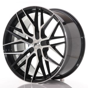 JR Wheels JR28 21x10,5 ET15-55 5H BLANK Gloss Black Machined Face