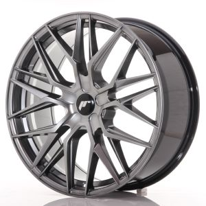 JR Wheels JR28 21x9 ET15-45 5H BLANK Hyper Black