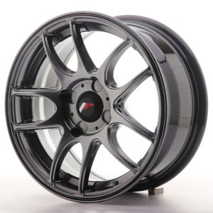 JR Wheels JR29 15x7 ET20-42 4H BLANK Hyper Black