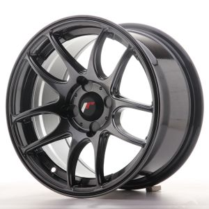 JR Wheels JR29 15x8 ET28-37 4H BLANK HyperBlack