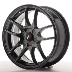 JR Wheels JR29 17x7 ET20-48 5H BLANK Hyper Black