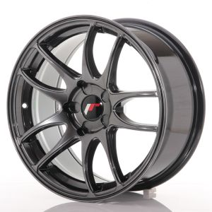 JR Wheels JR29 17x8 ET20-38 5H BLANK Hyper Black