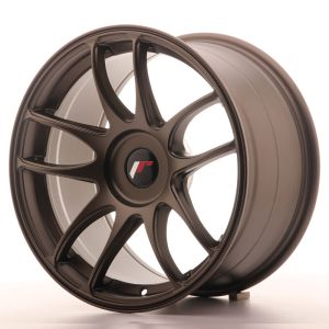 JR Wheels JR29 17x9 ET20-38 BLANK Matt Bronze