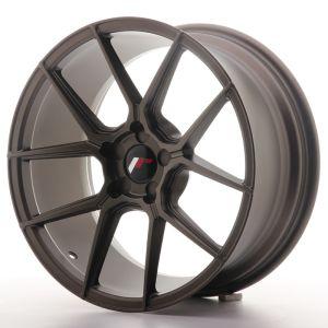 JR Wheels JR30 18x8,5 ET20-40 5H BLANK Matt Bronze