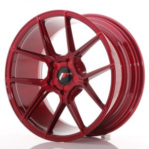 JR Wheels JR30 18x8,5 ET20-40 5H BLANK Platinum Red