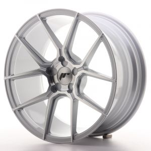 JR Wheels JR30 18x8,5 ET40 5H BLANK Silver Machined Face