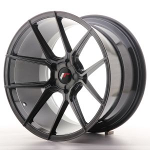 Japan Racing JR30 19x11 ET15-40 5H Blank Hyper Gray