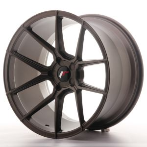 JR Wheels JR30 19x11 ET15-40 5H BLANK Matt Bronze