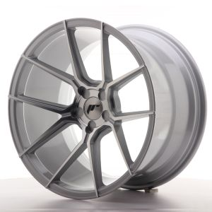 JR Wheels JR30 19x11 ET15-40 5H BLANK Silver Machined Face