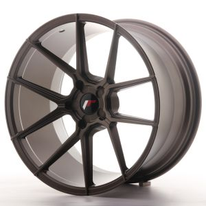 JR Wheels JR30 20x11 ET30-50 5H BLANK Matt Bronze