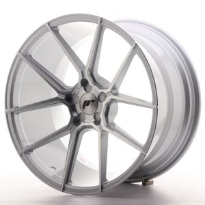 JR Wheels JR30 20x11 ET30-50 5H BLANK Silver Machined Face