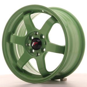 JR Wheels JR3 15x7 ET40 4x100/114 Green