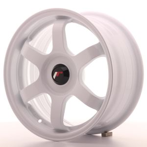 JR Wheels JR3 15x7 ET35-42 BLANK White