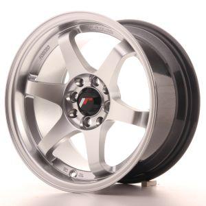 JR Wheels JR3 15x8 ET25 4x100/114 Hyper Silver