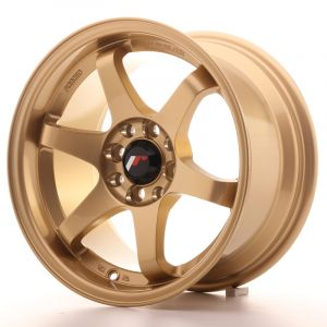 JR Wheels JR3 15x8 ET25 4x100/108 Gold