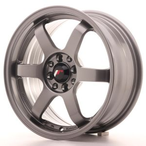 JR Wheels JR3 16x7 ET40 5x100/108 Gun Metal