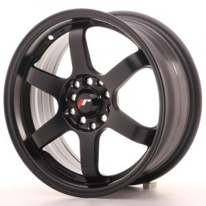 JR Wheels JR3 16x7 ET25 4x100/108 Matt Black