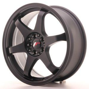 JR Wheels JR3 17x7 ET40 4x100/114 Matt Black