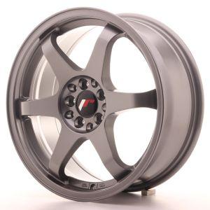 JR Wheels JR3 17x7 ET40 5x100/114 Gun Metal