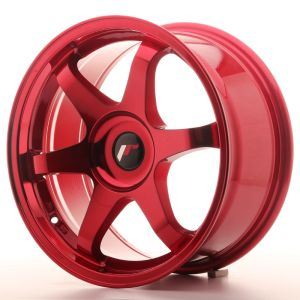 JR Wheels JR3 17x7 ET20-42 BLANK Platinum Red