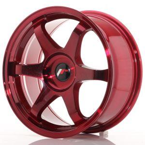 JR Wheels JR3 17x8 ET20-35 BLANK Platinum Red