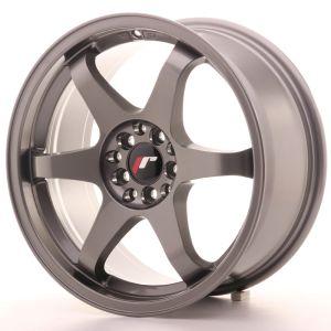 JR Wheels JR3 17x8 ET35 5x114/120 Gun Metal