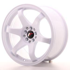 JR Wheels JR3 17x9 ET30 5x114,3/120 White