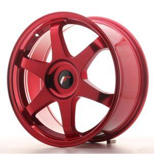JR Wheels JR3 18x8 ET20-40 BLANK Platinum Red