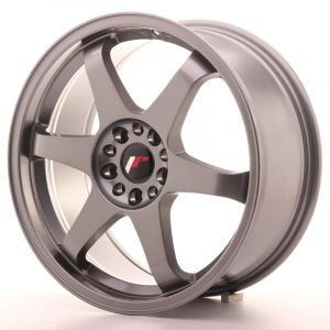 JR Wheels JR3 18x8 ET30 5x114/120 Gun Metal