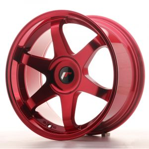 JR Wheels JR3 18x9 ET20-40 BLANK Platinum Red