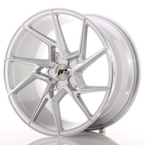 JR Wheels JR33 19x9,5 ET20-45 5H BLANK Silver Machined Face