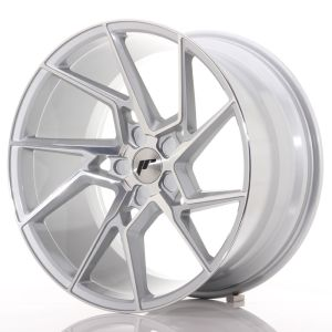 JR Wheels JR33 20x10,5 ET15-30 5H BLANK Silver Machined Face