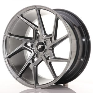 JR Wheels JR33 20x10 ET20-40 5H BLANK Hyper Black