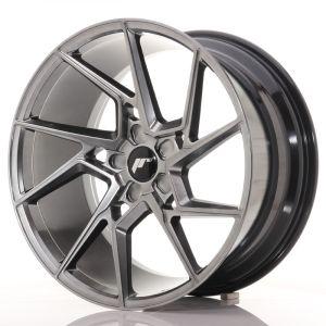 JR Wheels JR33 20x10 ET40 5H BLANK Hyper Black