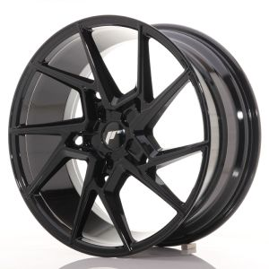 JR Wheels JR33 20x9 ET20-48 5H BLANK Gloss Black