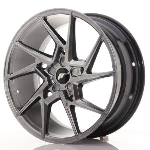 JR Wheels JR33 20x9 ET20-48 5H BLANK Hyper Black