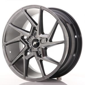 JR Wheels JR33 20x9 ET40-48 5H BLANK Hyper Black