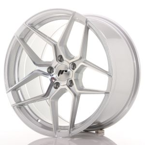 JR Wheels JR34 19x9,5 ET40 5x112 Silver Machined Face