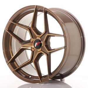 JR Wheels JR34 19x9,5 ET20-40 5H BLANK Platinum Bronze